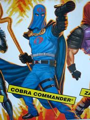 máscara del Comandante Cobra