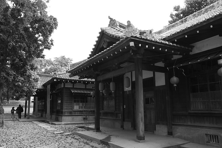 嘉義市史蹟資料館(黑白)19