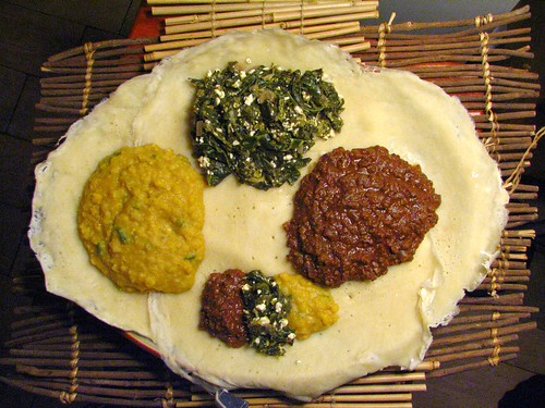 Ethiopian Spread - Homemade