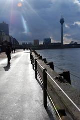 By the Rhine (fushmush) Tags: germany dusseldorf rhine rhineriver
