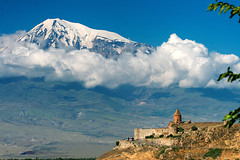 / Khor Virap Monastery and Mount Ararat,Armenia (Alexanyan) Tags: winter mountain church saint st fog place cross border deep kirche monk chapel dungeon christian mount holy monastery armenia christianity hay gregory orthodox fortress eglise turkish armenian apostolic hor ararat kosciol illuminator armenien caucas khor armenie szent caucasia virap  hayastan armenienne hayasdan armenisch virab    rmenyorszag   rmeny