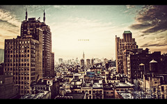Gotham (isayx3) Tags: new york city nyc newyork skyline post batman tribeca empirestatebuilding gotham process friday cinematic epic bigapple hdr oldschooldigital