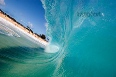 Half Pipe ( KristoforG) Tags: ocean beach water canon photography hawaii sand surf pacific sandy wave tsunami housing tidal gellert kristofor waterhousing