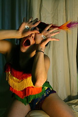 so sessy (jennica.abrams) Tags: photography rainbow eyes hands feather fringe leotard panslabyrinth jennicaabrams