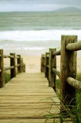 o caminho até mar