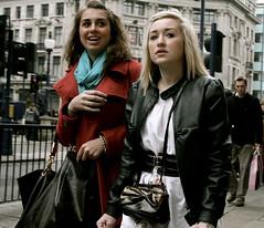 Poors fashion victims ! (Pierre Mallien) Tags: street uk wedding red vacation urban en woman london girl beauty fashion la