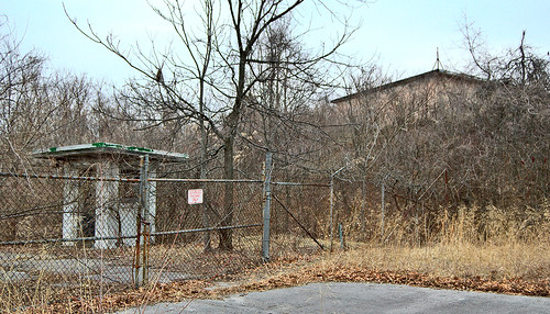 Pere Marquette State Park, in Grafton, Illinois, USA - abandoned Nike missle base