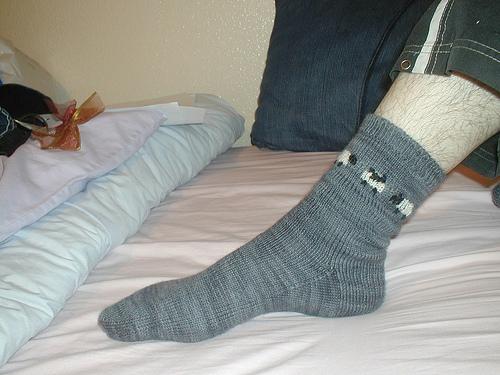 Steve's socks - on Steve