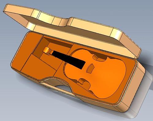Calder new violin 4 w v