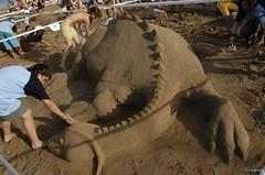 Concurso de arena del 2007 (GonzalezNovo) Tags: art beach de playa arena escultura artistas melilla playasanlorenzo annimos pwmelilla