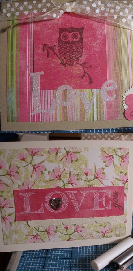 love cards collage
