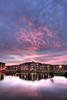 Mirrored (edmundlwk) Tags: sunset reflections lakeside coventry hdr accomodation heronbank universityofwarwick canon450d tokina1116f28 edmundlim