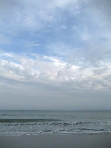 bit of blue