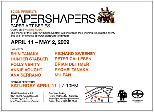 Scion Presents Papershapers