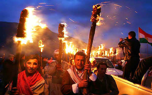 Kurdistan new year 2709 NEWROZ