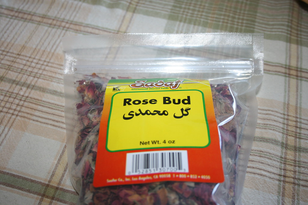 Package of rose buds