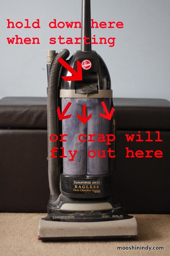 Hooves the Vacuum.