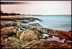 Mad Sea (Talal Al-Duolye) Tags: sea love sony we kuwait mad a200  talal q8 kwt        a    gwlk abohlaifa