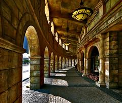 ~ Light and Shadow ~ (Peem (pattpoom)) Tags: light shadow architecture nikon roman colosseum explore macau specialtouch d700 theperfectphotographer  nikkorafs1424mmf28ged