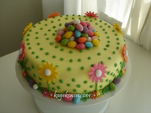 *Easter  and spring inspired cake