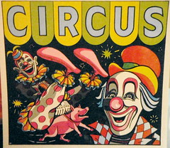 circus, clown art
