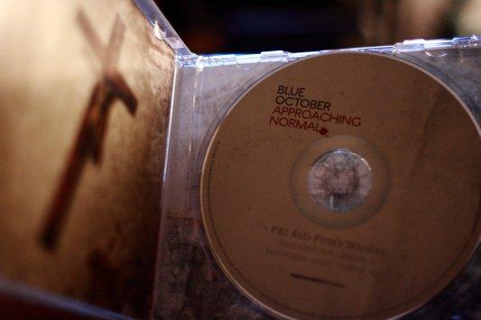 Blue October inside cd case by Elisa Sherman | emswazzu.com