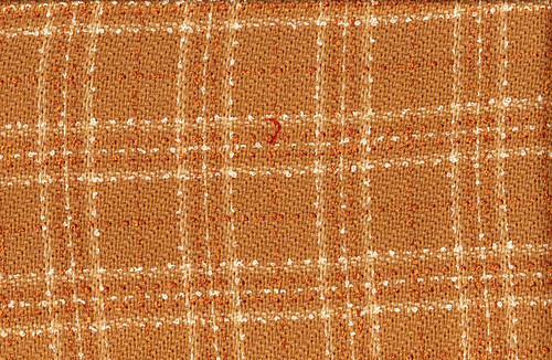 Tan Thick Wool Plaid
