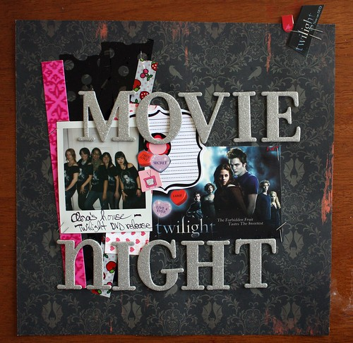 Going to the Movies-Category Stories, April challenge by you.