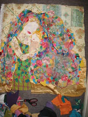 New Summer Art Quilt WIP