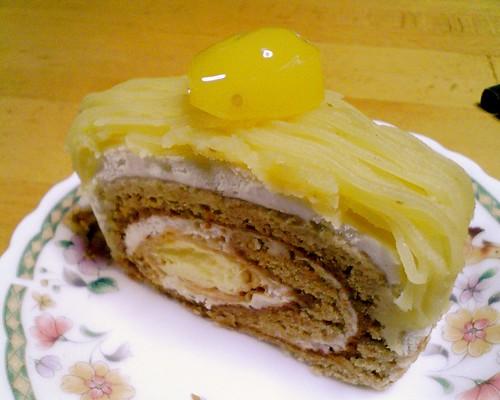 欧風菓子マロンのケーキ