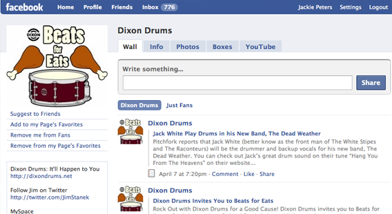 Dixon Drums Fan Page