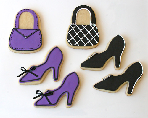 Purse and Shoe Cookies