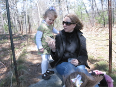 E & Q at Walden Pond