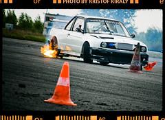 drift training day #03 (Kristof Kiraly) Tags: speed power smoke burnout tuning 28135mm motorsport drifting drift powerslide 40d tököl wwwdrifterhu