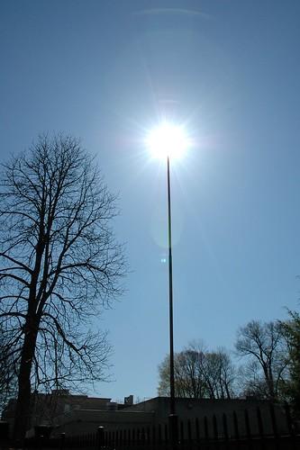 sun on a stick