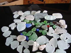 Sea (lake) glass bounty