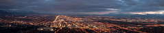 Salt Lake City/Valley Panorama at Dusk
