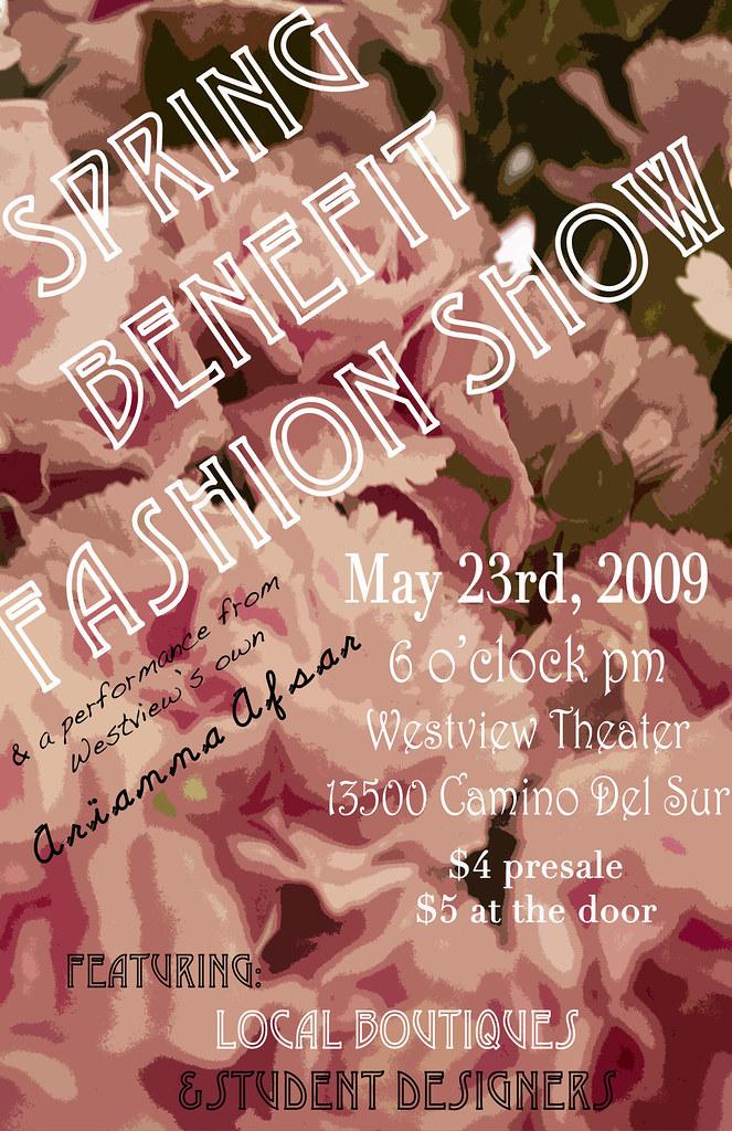 Spring Benefit Fashion Show!