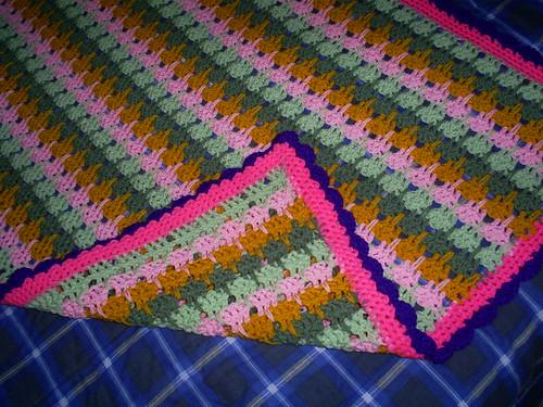 Larksfoot Crochet Afghan Pattern : Larksfoot Crochet Pattern