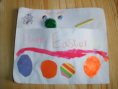 H made me an Easter mailbox