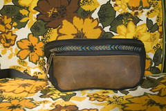 Vintage L.L. Bean Fanny Pack (thelimetreevintage) Tags: travel school summer art leather vintage shopping bag clothing hiking hipster fanny bean waist pack 80s etsy ll genuine