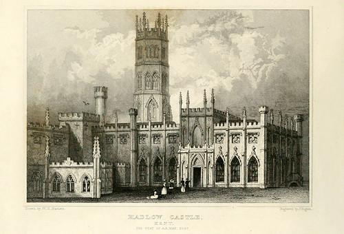 012- Castillo de Hadloy en Kent-1835