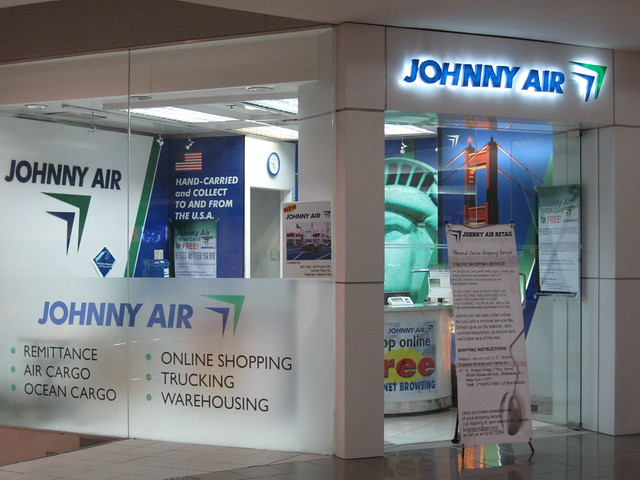 Johnny Air at Megamall