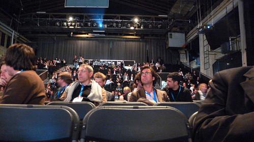 Blick in das Publikum auf der Next09