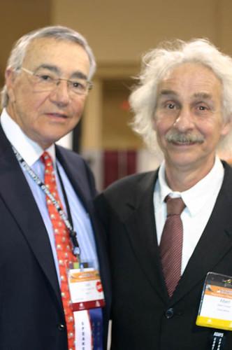 Dr. Jack Gunter and Albert Kickin' it