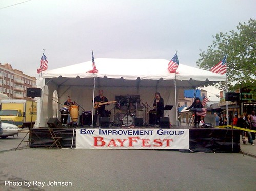 bayfest performers stage up close 2009