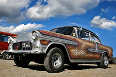 55 chevy gasser (fiftyfivebomber) Tags: chevy 55 gasser