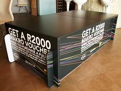 X-Board Sony display table