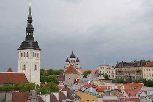 市庁舎の塔からの眺め