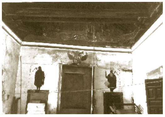 Interior de la Posada de la Hermandad hacia 1925. Sección Nobleza del Archivo Histórico Nacional